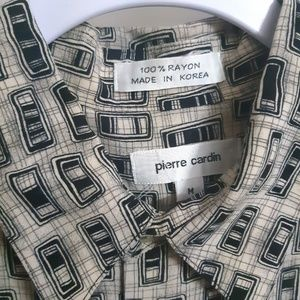 Pierre Cardin Shirts - Pierre Cardin Short Sleeve Button Up Shirt